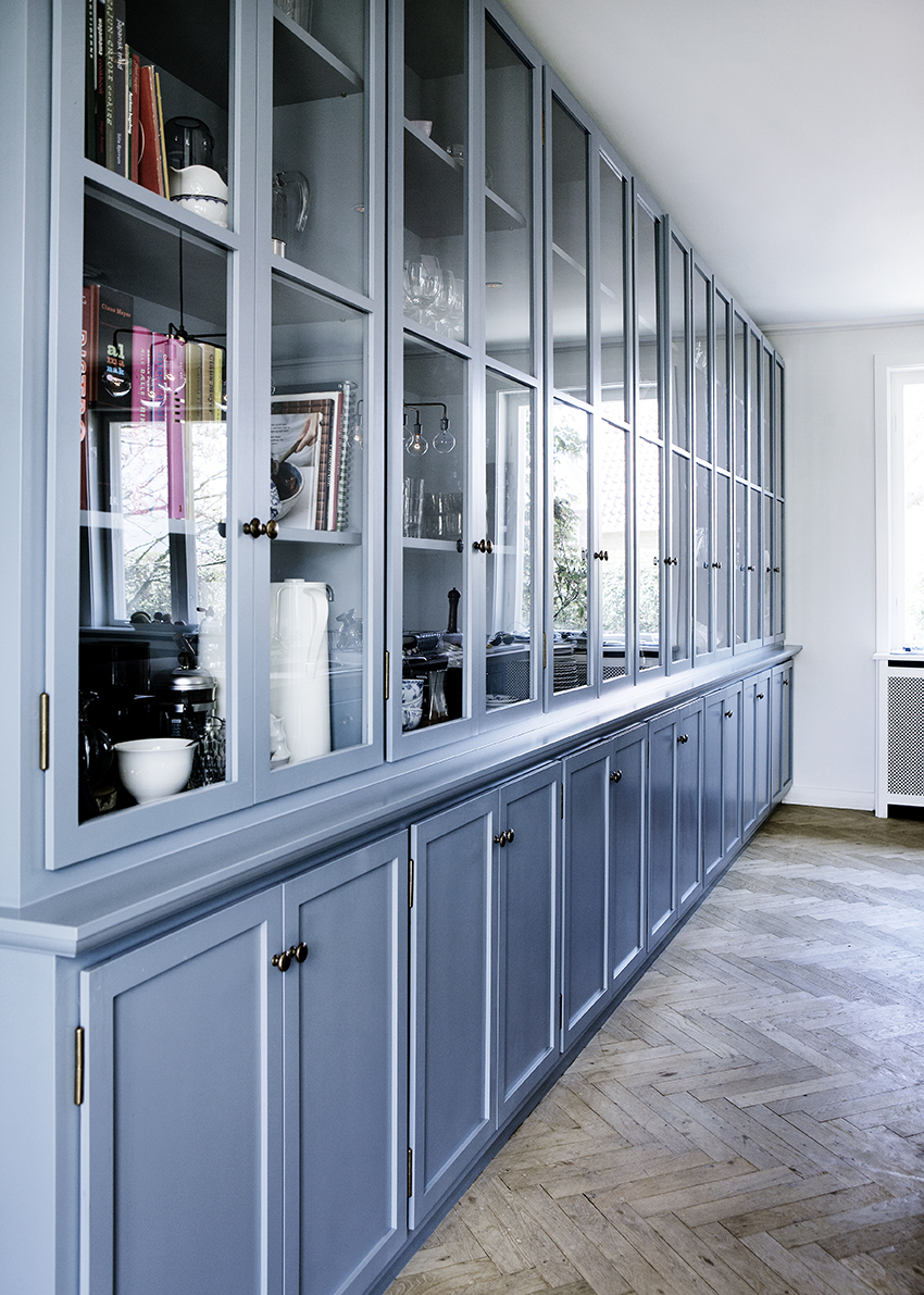 Cornflower Blue Kitchen Inspiration - Room For Tuesday