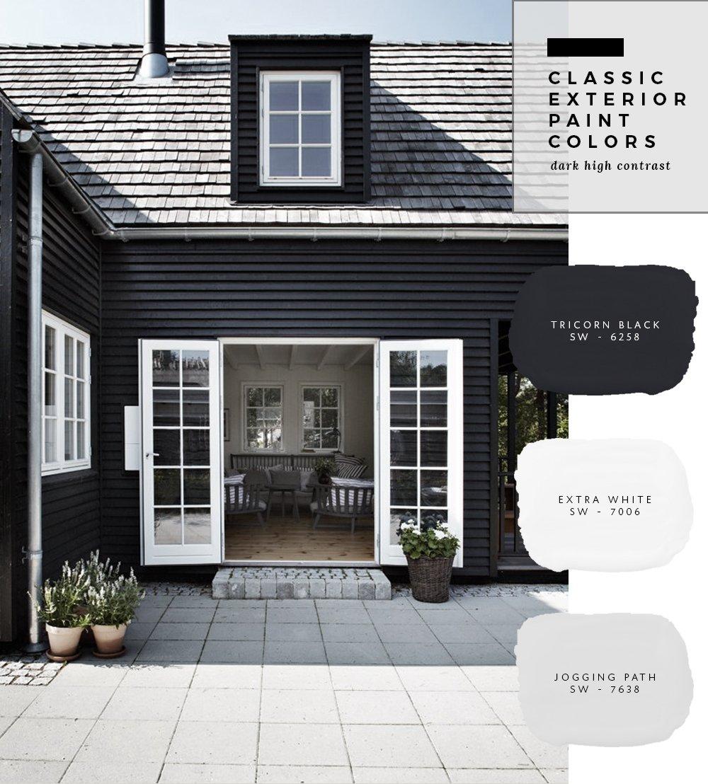 Modern Home Exterior Paint Colors: Classic Exterior Paint Colors