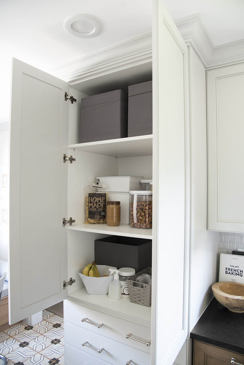 An Organized Pantry And Kitchen Room For Tuesday