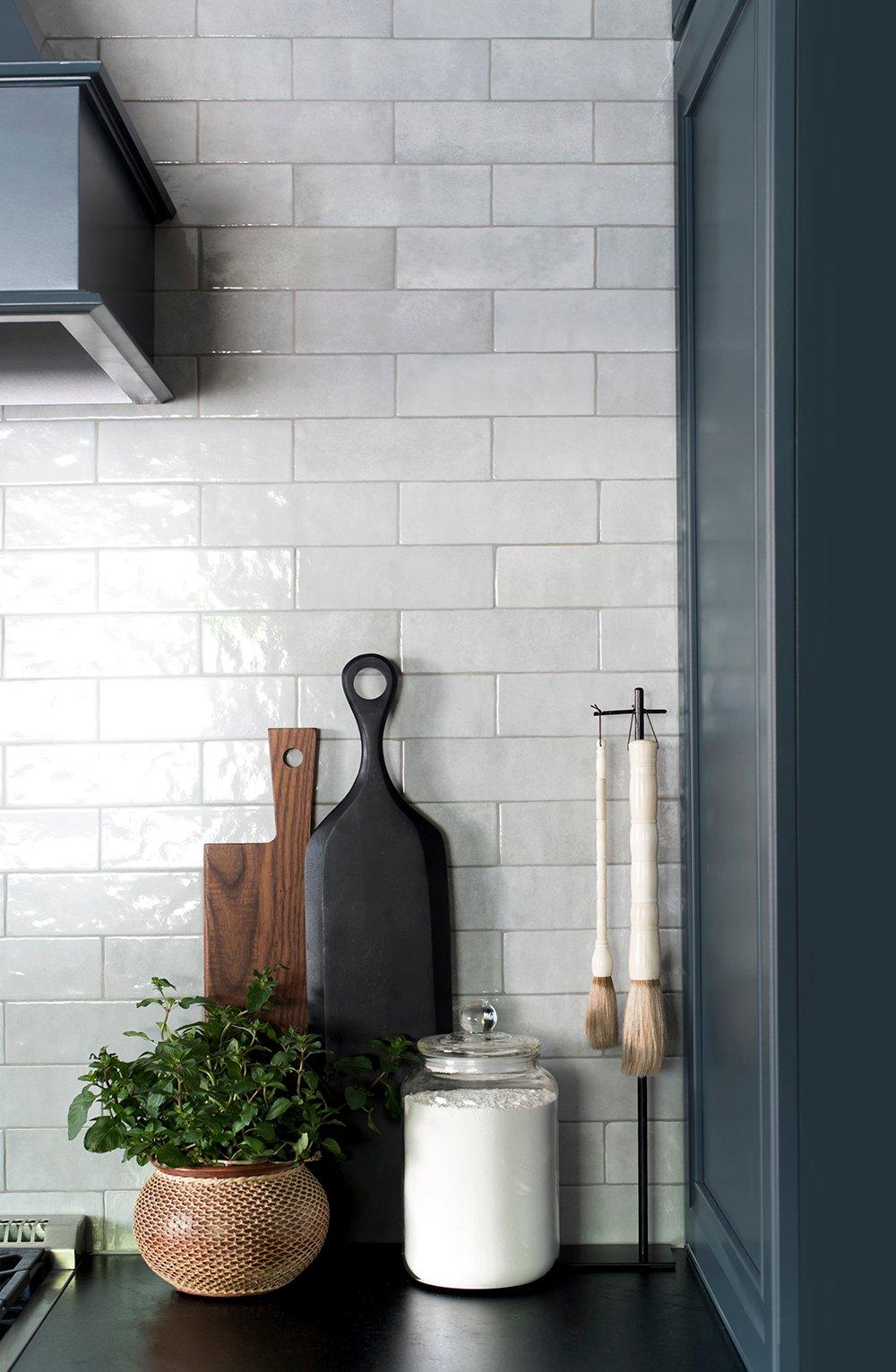 Bedrosians Cloe Backsplash Tile In Grey Room For Tuesday